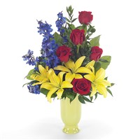 Sunshine Garden flower bouquet (BF42-11K)